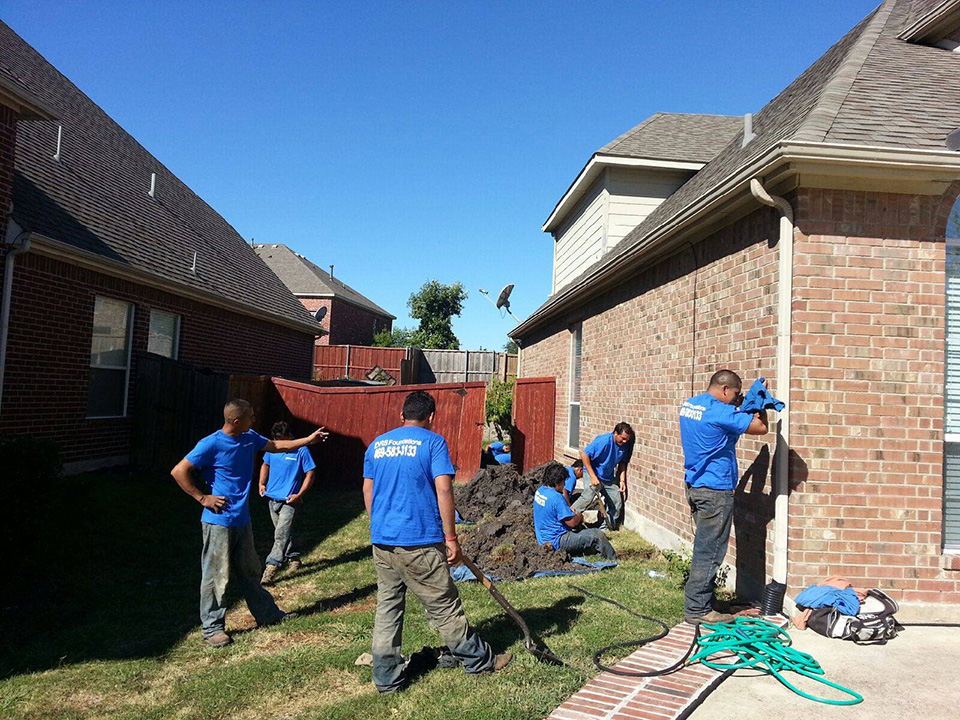 Foundation Repair - Colleyville, Coppell, Denton, DeSoto
